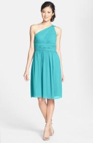 Donna Morgan 'Rhea' One-Shoulder Chiffon Dress - nordstrom.com