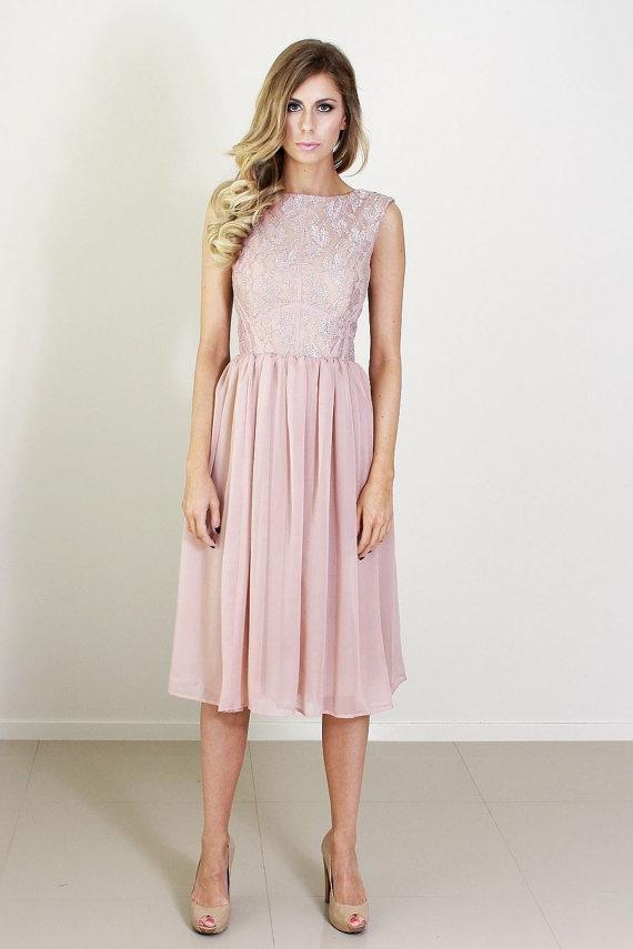 Dusty-pink bridesmaid dress – www.etsy.com/shop ... - photo #19