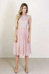 Dusty-pink bridesmaid dress - www.etsy.com/shop/daysofglamour