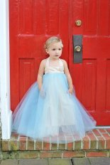 Flower girl dress - www.etsy.com/shop/BellaBeanCouture