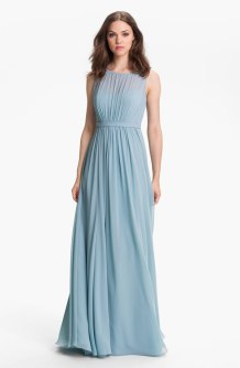 Jenny Yoo 'Vivienne' Pleated Chiffon Gown, from nordstrom.com