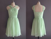 Mint bridesmaid dress - www.etsy.com/shop/XOXOdress