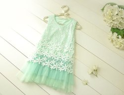 Mint flower girl dress - www.etsy.com/shop/AmazinGems
