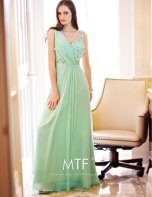 Mint-green bridesmaid dress - www.etsy.com/shop/MTFBridal