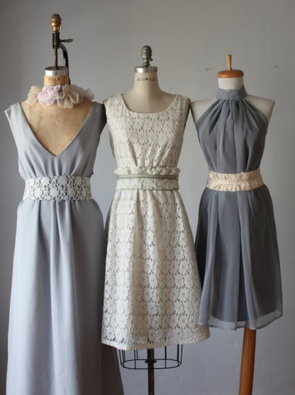 Mix and match bridesmaid dresses - www.etsy.com/shop/AtelierSignature