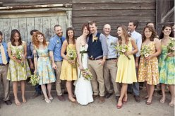 Mix and match bridesmaid dresses - www.etsy.com/shop/MissBrache