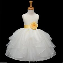 Organza flower girl dress - www.etsy.com/shop/KidsDreamsUSA