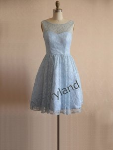 Powder-blue bridesmaid dress - www.etsy.com/shop/AFairyland
