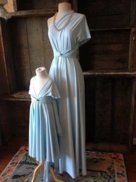 Powder-blue infinity dress - www.etsy.com/shop/CoralieBeatrix