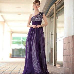 Purple bridesmaid dress - www.etsy.com/shop/LittleBClothing