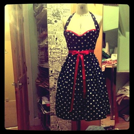 Rockabilly bridesmaid dress - www.etsy.com/shop/StephanieFrances13