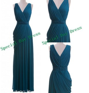 Teal bridesmaid dress - www.etsy.com/shop/SpecialDayDress