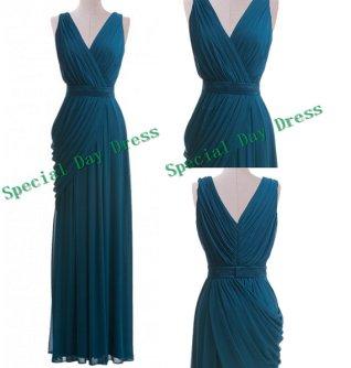 Teal bridesmaid dress - www.etsy.com/shop/SpecialDayDress