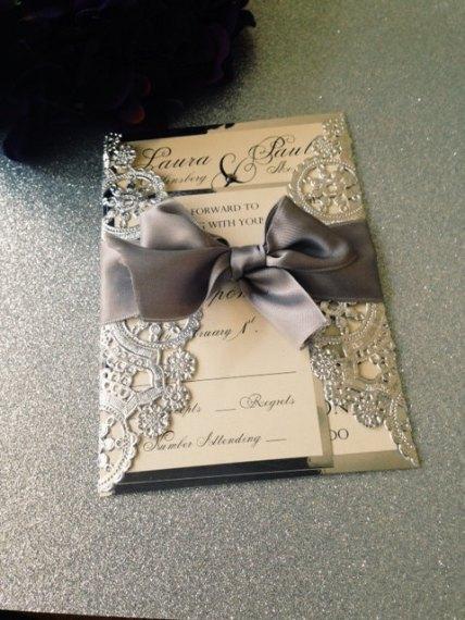 Wedding invitation - www.etsy.com/shop/InvitationsbyErin