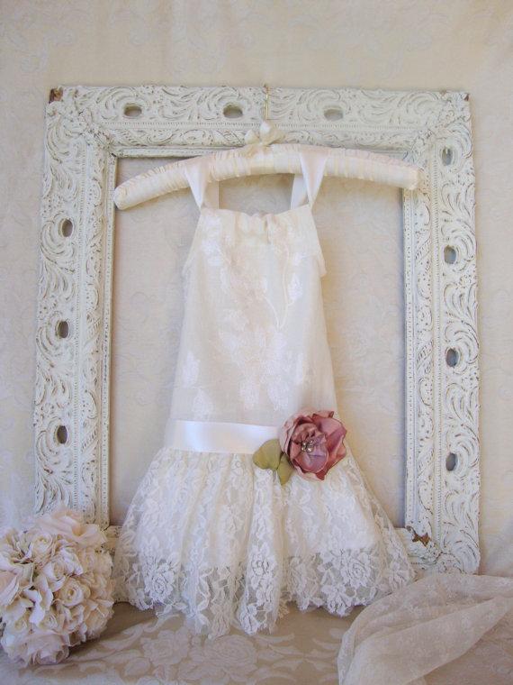 9e24978800 1920s-style flower girl dress – www.etsy.com shop HopefullyRomantic ...