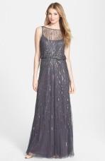 Aidan Mattox mesh gown - nordstrom.com