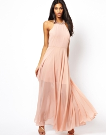 Asos cluster embellished maxi dress - asos.com