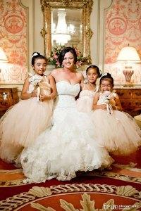 Blush and ivory flower girl dresses - www.etsy.com/shop/littledreamersinc