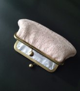 Blush clutch purse - www.etsy.com/shop/girlbyAileen