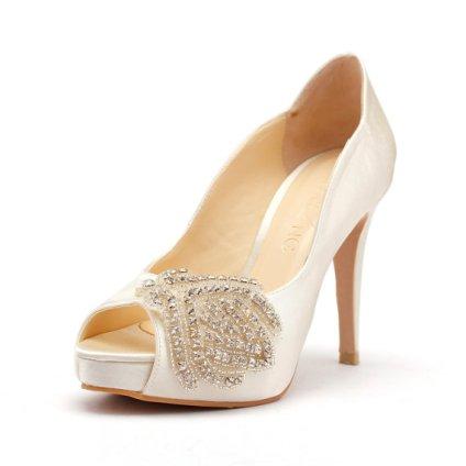 Bridal wedding shoes - www.etsy.com/shop/ChristyNgShoes