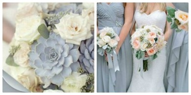 Dusty blue wedding inspiration {via tahoeweddingsites.com}