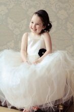 Ivory flower girl dress - www.etsy.com/shop/annesdesignstudio
