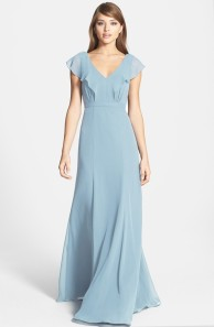 Jenny Yoo 'Cecilia' Ruffled Chiffon Dress - nordstrom.com