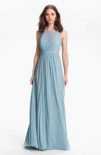 Jenny Yoo 'Vivienne' Pleated Chiffon Gown - nordstrom.com