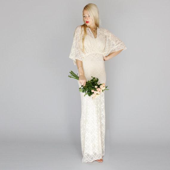 Kimono Wedding Gown