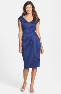 Maggy London Taffeta Sheath Dress - nordstrom.com