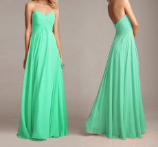 Mint bridesmaid dress - www.etsy.com/shop/sunpeng2011
