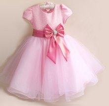 Pink flower girl dress - www.etsy.com/shop/Schnuffelinis