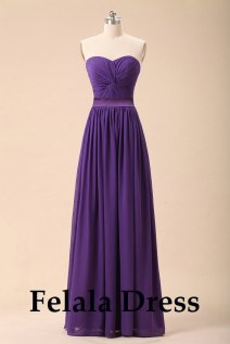 Purple bridesmaid dress - www.etsy.com/shop/FelalaDress