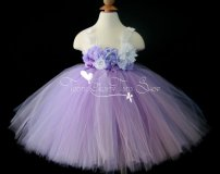 Purple flower girl dress - www.etsy.com/shop/TootieFruityTutuShop
