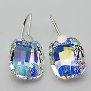 Swarovski crystal earrings - www.etsy.com/shop/Advenche