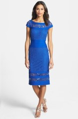 Tadashi Shoki lace sheath dress - nordstrom.com