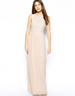 Ted Baker pleated maxi dress - asos.com