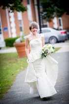 Wedding dress (US$1125) - www.etsy.com/shop/RusticGlamourWedding