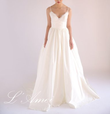 Wedding dress (US$501) - www.etsy.com/shop/LAmei