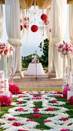 Amazing aisle and altar {via pinterest.com}