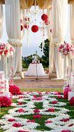 Amazing aisle and altar {via pinterest.com}