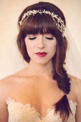Boho-style fishtail braid and headband {via ruffledblog.com}
