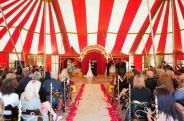 Circus big top wedding {via greenweddingshoes.com}