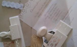 DIY vintage-style invitations tutorial - http://rusticweddingchic.com/diy-vintage-inspired-wedding-invitations