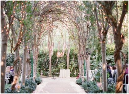 Fairy lights make trees look so beautiful {via blog.valentinaglidden.com}