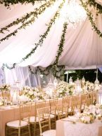 Fairytale marquee/tent reception {via greenweddingshoes.com}
