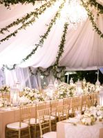 Fairytale marquee/tent reception {via greenweddingshoes.com}