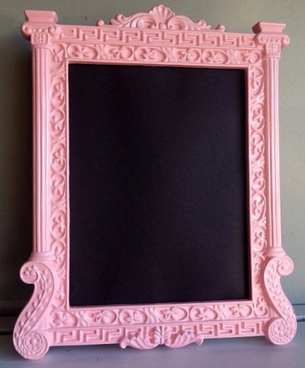 Framed chalkboard for seating plan or welcome message - www.etsy.com/shop/FrameItbyJill