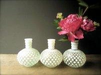 Glass vases - www.etsy.com/shop/SwoonVintageAndSuch