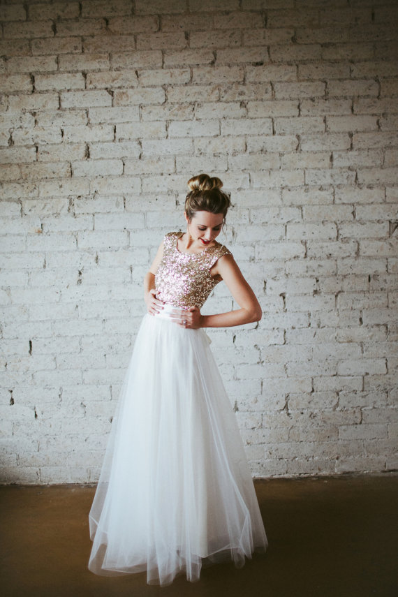 Colourful Wedding Dresses On Etsy